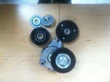 Drive Belt Tensioner +2 Idler pulleys set of For Mercedes Benz 2720270+1419+1019