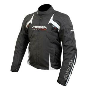 ARMR Moto Eyoshi Waterproof Textile Motorcycle Jacket Sports CE Armour