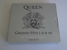 Queen Greatest Hits Volumes I, II and III – The Platinum Collection, a 3 CD set
