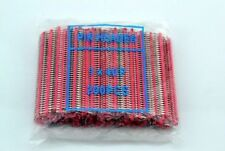 100pc RED 40pin 2.54mm Single Row Breakaway Male Pin Header for Arduino uno R3