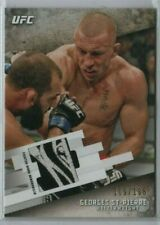 GEORGES ST-PIERRE 2015 Topps UFC Knockout Fighter Worn Relic 109/188