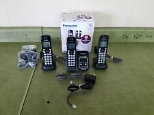 Panasonic KX-TGE633M DECT 6.0 Cordless Phone System w/ Digital Answering Machine