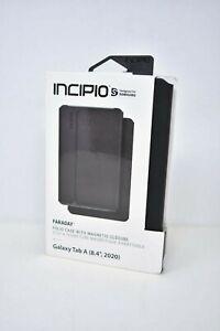 """Incipio Faraday Leather Folio Case for Samsung Galaxy Tab A 8.4"""" (2020) - Black"""