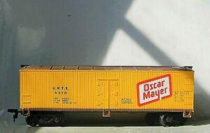 Life-Like 38' Wooden Ice Reefer ~ Oscar Meyer ~ Rd# URTX 5376 - HO