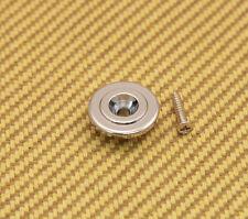 BSG-ER-C Chrome Economy Round Bass Guitar String Guide w/mounting screws
