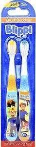 Blippi 2-Pack Manual Toothbrushes