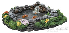 Vivid Arts - MINIATURE WORLD FAIRY GARDEN HOME ACCESSORIES - Rock Fish Pond