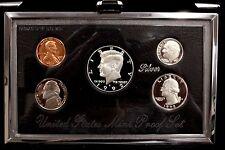 1992 US Mint Premier Silver Proof Set w Box & COA