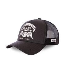 VON DUTCH TRUCKER CAP - CREW8 BLACK **BRAND NEW & IN STOCK**