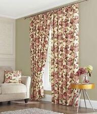 Cotton Floral Curtains & Pelmets