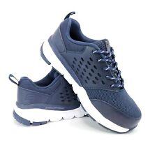 Skechers Mens 7 Slip Resistant Memory Foam Lightweight Steel Toe Shoes 77506