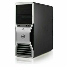 Dell Precision Workstation Computer Intel Xeon Quad Core 8GB 1TB Windows 10