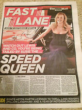 F1 SUSIE WOLFF PHOTO COVER INTERVIEW - 16 AUGUST 2015 - NEW