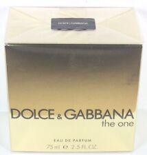 DOLCE&GABBANA D&G The One 75ml Eau De Parfum EDP & Original Verpackt
