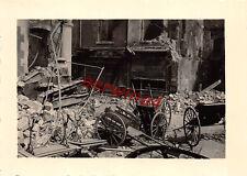 Strassenkampf franz. Panzer FT - 17  Lüttich Belgien