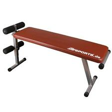 ScSPORTS® Sit Up Bank Bauchtrainer Hantelbank Trainingsbank Fitnessbank klappbar