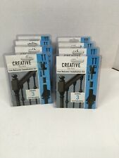 Creative Stair Parts Iron Baluster Installation Kit, Bundle Of 2 Packages. NIB