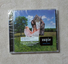"CD AUDIO MUSIQUE FR / ZAZIE ""ZA7IE"" CD ALBUM  ENHANCED 14T 2010 NEUF SS BLISTER"
