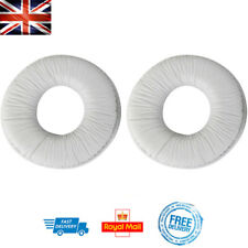 x2 Replacement Ear Pads For SONY MDR-ZX100 ZX300 ZX330BT WHITE Headphone Cushion