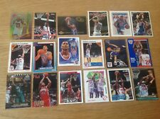 Lovely Lot Of Derrick Coleman NBA Basketball Trading Cards Inc Inserts