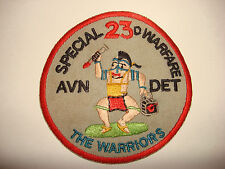 Vietnam War Patch US Air Force 14th AIR POLICE Squadron AUGGIE DOGGIES
