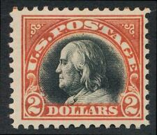 UNITED STATES 523 MINT HINGED FINE $2 FRANKLIN