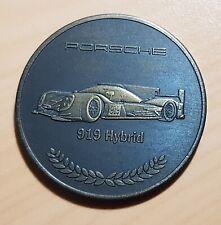 Porsche Münze Medaille 2015 Porsche 919 Hybrid - ORIGINAL