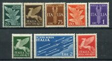 Kingdom of Italy 1930-32 Airmail complete set MNH ** Saxon s1502