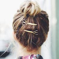 2pcs Scissors Shape Hair Clip Hair Pin Women Girl Hair Accessory Hair Ornament