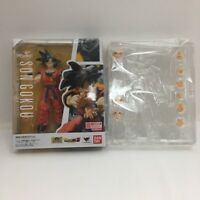 Bandai S.H.Figuarts Dragon Ball Z SON GOKOU Raised on Earth with Bonus Parts