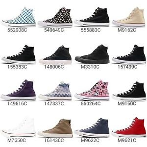 Converse Chuck Taylor All Star Men Women High Hi Classic Shoes Sneakers Pick 1
