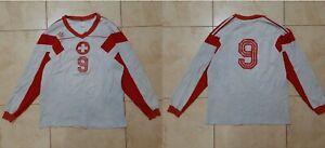 Switzerland Football / Handball Shirt Match Worn 1985/1990 Adidas Climalite 2000