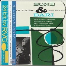 Curtis Fuller – Bone & Bari BLUE NOTE JAPAN MINI LP CD Sonny Clark, Art Taylor