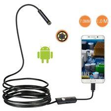7mm Lens Android OTG USB Endoscope Camera 1M Smart Android Phone USB Borescop…