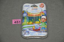 VTech V.Smile Motion & Cyber Pocket Disney Handy Manny Brand New Game In Box