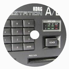 Korg wavestation Rare Synth Patches collection and Emagic sounddiver editor