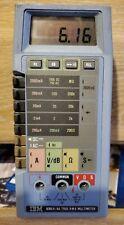 FLUKE 8060A TRUE RMS MULTIMETER dvm w/ leads probes
