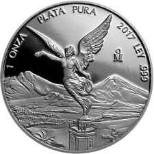 2017 Mexico Proof Libertad 1 oz Silver Coin Moneda Plata