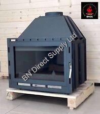 CHEMINÉE INSERT médaillon Poêle à bois brûleur Foyer intégré 14 -21 kW Sénateur