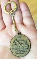 KEY RING/FOB: MARION POWER SHOVEL COMPANY Metal Vintage Advertising Promo Vtg