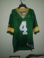 Brett Favre #4 Green Bay Packers Reebok STITCHED NFL On Field Jersey- Mens Small
