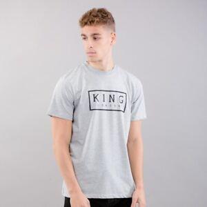 KING APPAREL - London Streetwear - Select Box T-shirt - Heather Stone [BNWT]