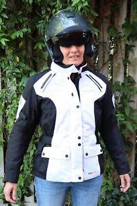 FLM Motorradjacke Damen, 3 mal getragen, wie neu, Cordura, Protektoren