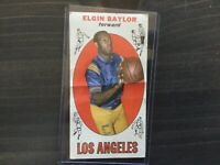 1969 TOPPS #35 ELGIN BAYLOR (crease in middle)