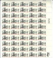 US SCOTT 1476 PANE OF 50 PRINTER AND PATRIOTS STAMPS 8 CENT FACE MNH
