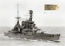 HMS Repulse 1916-1941 * 13 x 19  High Quality Print