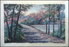"""Steve Bloom """"Morning Colors"""" landscape Hand Signed Numbered Art Make an Offer"""