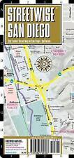 USED (VG) Streetwise San Diego Map - Laminated City Center Street Map of San Die