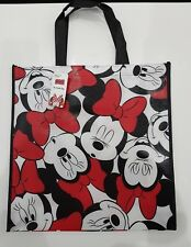 Disney Mickey or Minnie Mouse Official Shopping bag *Reusable* *large face*