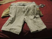 Palm Beach Jockey Club Men's Size 38 Light Tan Casual Cargo Shorts New With Tag